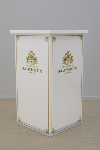 Corner Promo table 800mm (w) x 500mm (d) x 1010mm (h)