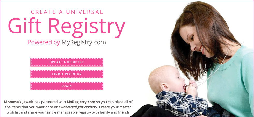 Momma's Jewels Gift Registry
