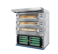 Tagliavini 3EMT34676BSP - 3 Deck Electric Modular Deck Oven / Prover Under. Weekly Rental $482.00
