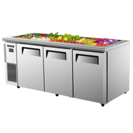 Skipio SSR18-3 Salad Side Prep Table - 516L. Weekly Rental $54.00