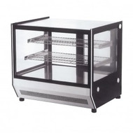 GN-900RT- Counter Top Square Glass Cold Food Display. Weekly Rental $11.00