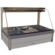 Roband C23RD Curved Glass Hot Food Bar. Weekly Rental $30.00