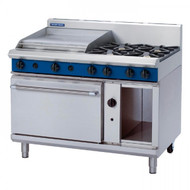 Blue Seal Evolution Series G508B - 1200mm Gas Range Static Oven. Weekly Rental $107.00
