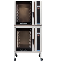 Turbofan E35T6-30/2 - Full Size Electric Convection Oven Touch Screen Control with Adjustable Feet Base Stand Double Stacked. Weekly Rental $301.00