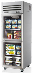 SKIPIO SFT25-2G Top Mount 2 x 1/2 Glass Door Foodservice Freezer. Weekly Rental $55.00