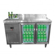 BT02 Bar Cooling Table with Sink. Weekly Rental $25.00