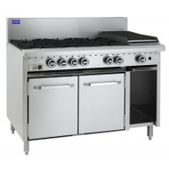 Luus Essential Series CRO-8B. Gas Oven With 8 Gas Burners. Weekly Rental $65.00