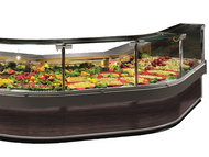 Criocabin Enixe 100/3750. Refrigerated Deli Display Cabinet. Weekly Rental $183.00