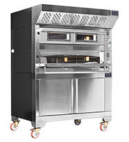 Fornitalia MG2 105/105.  Electric Two Deck Static Professional Pizza Oven. Weekly Rental $134.00