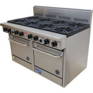 Goldstein PF-10-2/28 Gas 10 Burner Double Oven. Weekly Rental $145.00