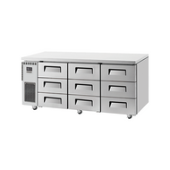 Skipio SUR18-3D-9. 9 Draw Refrigerated Cabinet. Weekly Rental $70.00