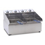 Roband FR25 - 2 x 5 Litre Pans Electric Deep Fryer. Weekly Rental $10.00