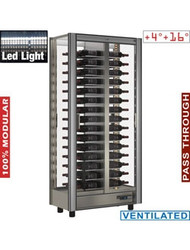 Diamond GVV-1/TR Refrigerated Wine Cabinet 530L. Weekly Rental $113.00