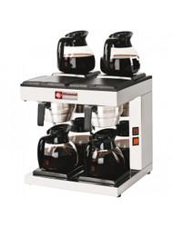 Diamond PCF-S4 Dual Coffee Percolator with Warming Plates. Weekly Rental $14.00