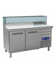 Diamond MR-PIZZA/CP Cooling Table For Pizzeria, 2 Doors. Weekly Rental $51.00