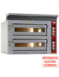 Diamond LD12/35-N Dual Electric Pizza Oven. Weekly Rental $110.00