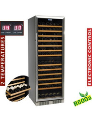 Diamond WCB/38-X2 Glazed Wine Cabinet 375L Black. Weekly Rental $49.00