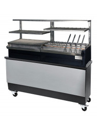 Diamond - CBR-160C-S Charcoal Robata Grill Complete With Stand. Weekly Rental $153.00