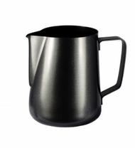 Milk Frothing Jugs  Black Satin Finish s/s 1 litre
