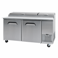 Bromic PP1700 Two-Door Pizza Prep Counter. Weekly Rental $65.00