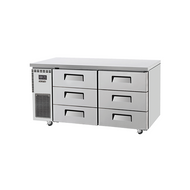Skipio - SUF15-3D-6 - Undercounter Freezer With Six Draws. Weekly Rental $58.00