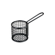 Service Basket S/S Black 84 x 80mm