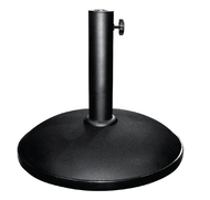 Bolero Outdoor Umbrella Concrete Base Black