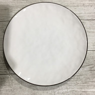 "8"" Side Plate White/Green"