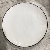 "8"" Side Plate White/Blue"