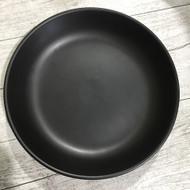 "9"" Rice Plate Black"
