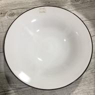 """11"""" Sharp Angle Plate White/Blue"""
