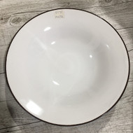 "11"" Sharp Angle Plate White/Green"