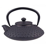 Cast Iron Teapot 500ml - Hobnail Black