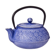 Cast Iron Teapot 900ml - Cherry Blossom Purple