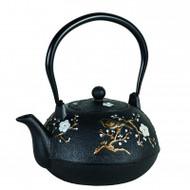 Avanti Blossom Cast Iron Teapot - 1 Litre