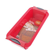 3104 RED SILICONE LOAF PAN 10X24