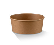 PLA Coated Kraft Salad Bowl 32oz 150x128x77mm - Box of 300