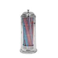 Avanti Glass Straw Dispenser- Includes 100 Straws