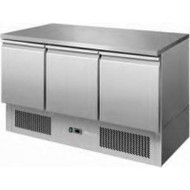 Atosa ESL3851 Three Doors Table Saladette. Weekly Rental $20.00
