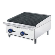CookRite ATRC-24 610mm Radiant Broiler. Weekly Rental $21.00