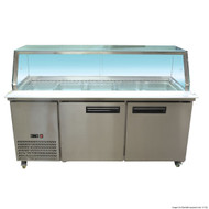 Cold Salad & Noodle Bar 5x1/1 GN Pans. Weekly Rental $68.00