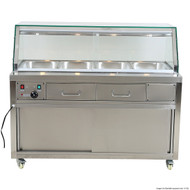 Heated Bain Marie Food Display. Weekly Rental $40.00