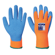 CA975 FREEZER GLOVES ORANGE/BLUE