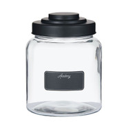Academy Glass Display Jar w/ Blackboard Label 2.6L