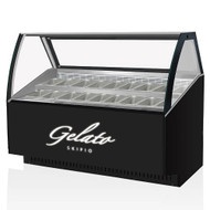 Skipio SGC-1500F 16 Flavours Gelato Display (1547mm Wide)