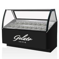 Skipio SGC-1500F 16 Flavours Gelato Display (1547mm Wide)