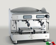 BZC2013S2EAF Bezzera Compact Espresso Coffee Machine 2 Group + Auto-foamer. Weekly Rental $77.00