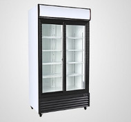 ASDR-800SL - Sliding Door Upright Chiller