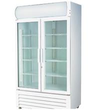 LG-730GE Two Glass Door Colourbond Upright Drink Fridge. Weekly Rental $18.00