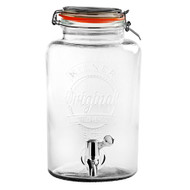 Round KILNER Storage Jar with Dispensing Tap and Stand